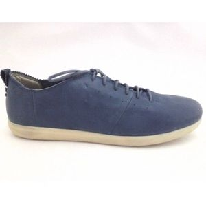 Geox Women's Suede Navy Oxford Shoes